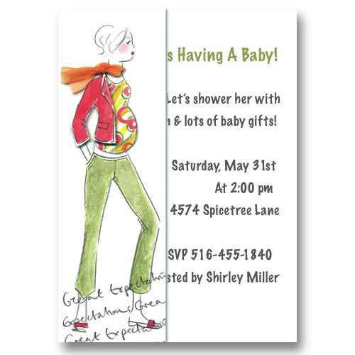 Baby Expectations Baby Shower Invitations