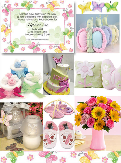 Butterfly baby shower theme it 39 s cachet baby - Butterfly themed baby shower favors ...
