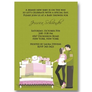 Expecting Couples Baby Shower Invitations