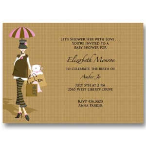 Oh Baby Shower Invitations