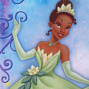 Princess Tiana from The Princess and the Frog Invitation