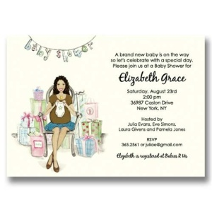 Multicultural Baby Shower Invitations