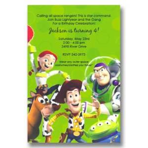 Disney birthday invitations its cachet baby disney toy story birthday invitations filmwisefo Gallery