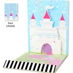Pop-up Princess Castle Birthday Invitations