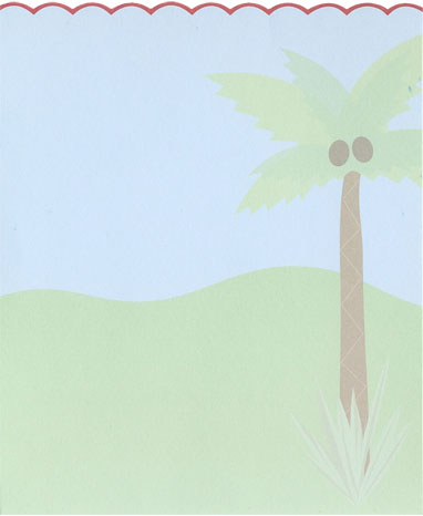 Insert for Pop-up Jungle Animals Birthday Invitations