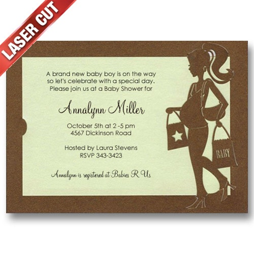 Hot Mama Baby Shower Invitations