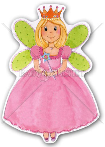 Princess Fairy Birthday Invitations