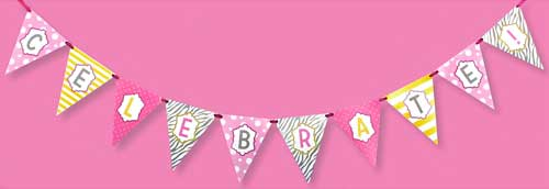 Celebrate In Style Party Party Banner