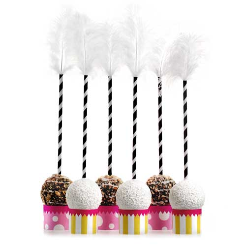 Celebrate In Style Party Cake Pop Decorations