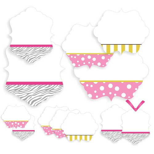 Celebrate In Style Party Treat Gift Tags