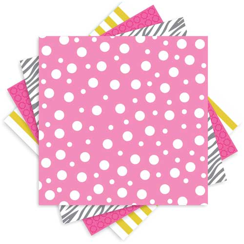Celebrate In Style Party Pattern Paper