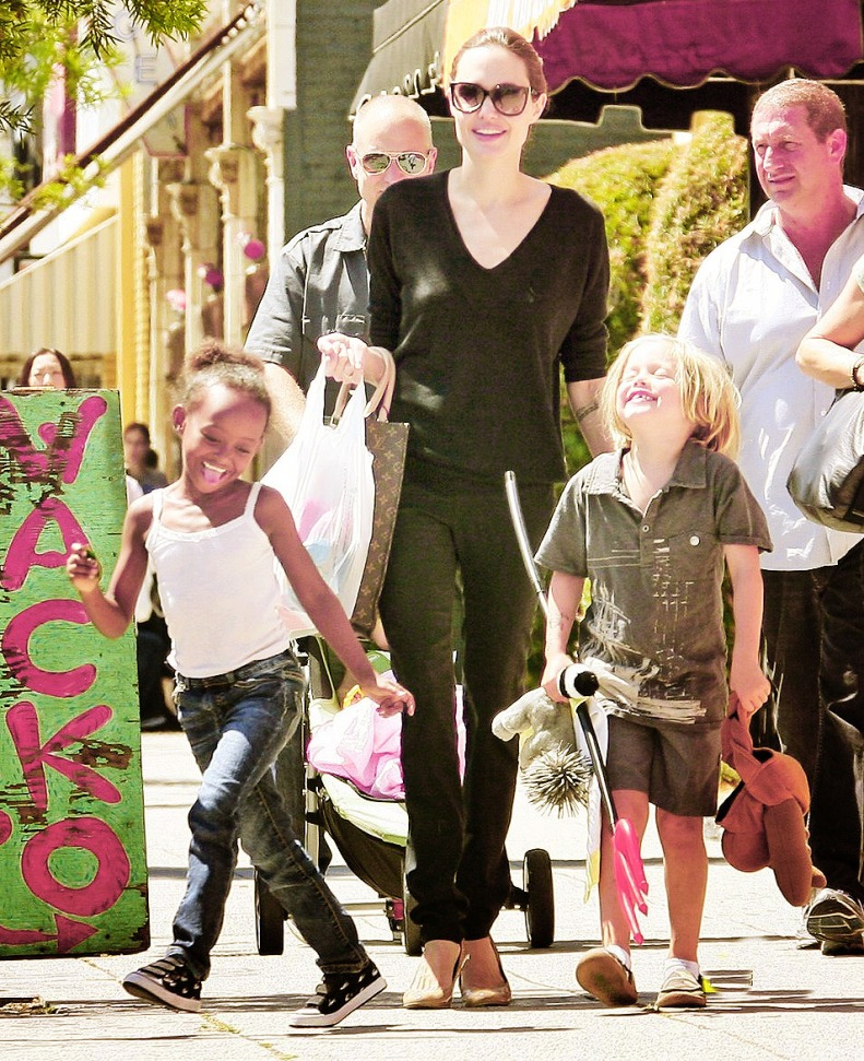 Zahara Jolie Pitt Ninth Birthday