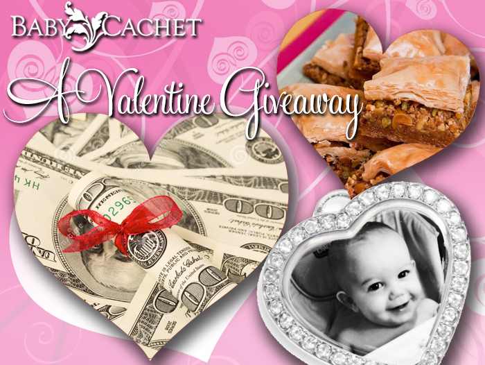 baby cachet valentine prizes